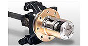 Axle Locking Hubs
